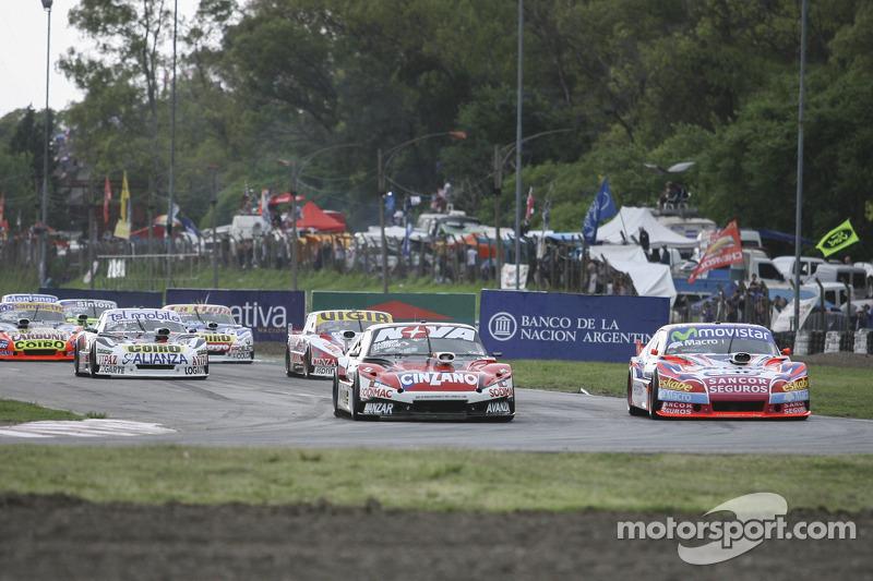Matias Rossi, Donto Racing Chevrolet Christian Ledesma, Jet Racing Chevrolet Juan Manuel Silva, Catalan Magni Motorsport Ford Marten Serrano, Coiro Dole Racing Chevrolet (1-2-3-4)
