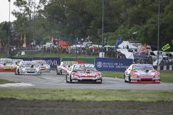 Matias Rossi, Donto Racing Chevrolet Christian Ledesma, Jet Racing Chevrolet Juan Manuel Silva, Catalan Magni Motorsport Ford Martin Serrano, Coiro Dole Racing Chevrolet (1-2-3-4)