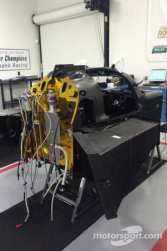 Ligier JS P2 Honda nos Michael Shank Racing workshops
