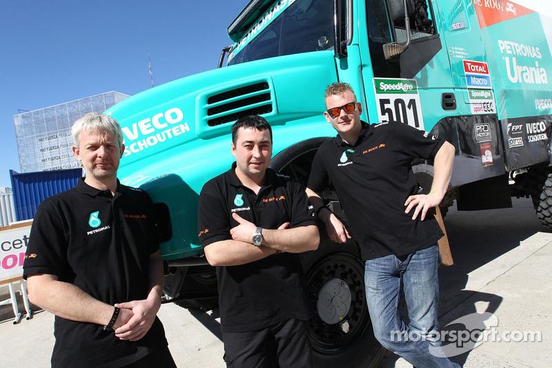 #501 Iveco: Gerard de Rooy, Jurgen Damen, Darek Rodewald