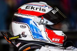 Helmet of Peter Kox