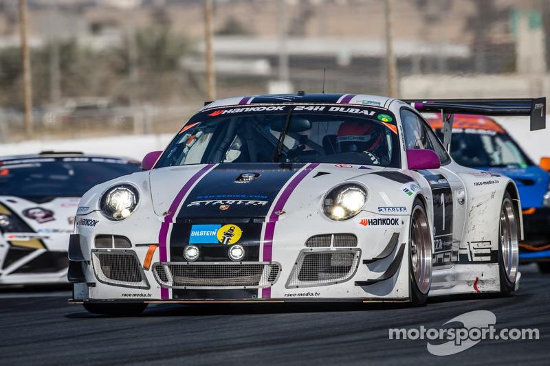 #1 Stadler Motorsport, Porsche 997 GT3 R: Mark Ineichen, Rolf Ineichen, Adrian Amstutz, Christian En