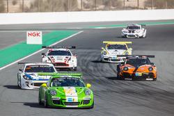 #53 Dinamic Motorsport Porsche 991 Cup: Tiziano Cappelletti, Tiziano Frazza, Mario Cordoni, Piero Fo