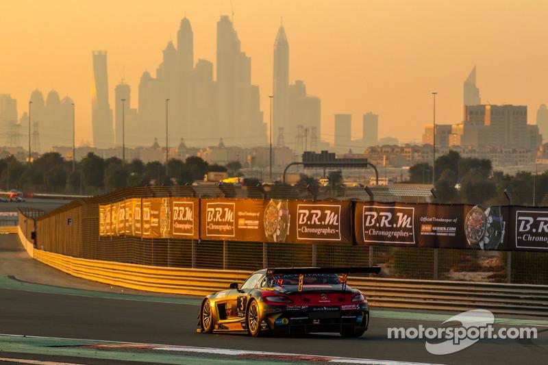 #3 Abu Dhabi Racing Black Falcon Mercedes SLS AMG GT3: Khaled Al Qubaisi, Jeroen Bleekemolen, Bernd