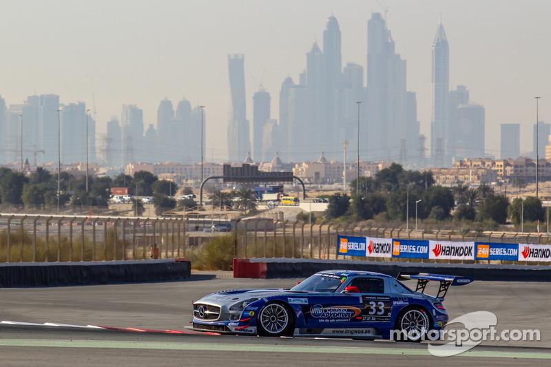 #33 SPS automotive-performance, Mercedes SLS AMG GT3: Valentin Pierburg, Lance David Arnold, Patrick Assenheimer, Alex Müller