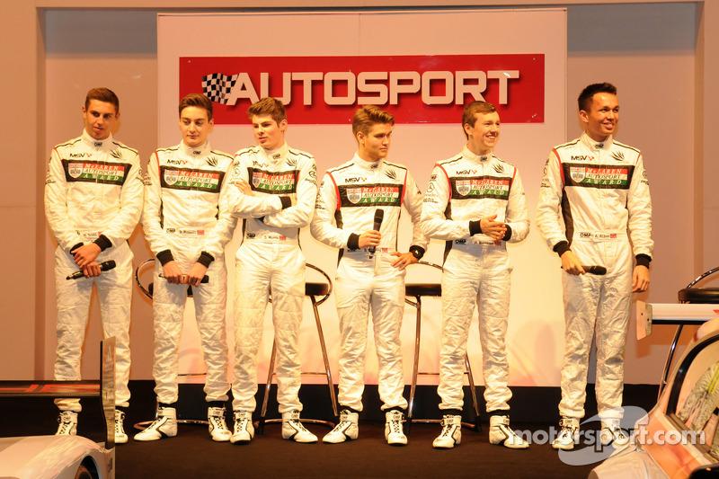 McLaren Autosport Genç Pilot Finalistleri