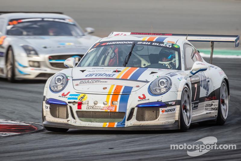#7 Lechner Racing Middle East Porsche 991 Cup: Fahad Algosaibi, Clemens Schmid, Klaus Bachler, Jaap van Lagen
