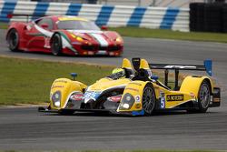 #85 JDC/Miller Motorsports ORECA FLM09: Rusty Mitchell, Stephen Simpson, Mikhail Goikhberg