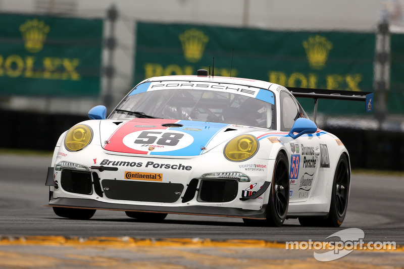 #58 Wright Motorsports,保时捷911,美洲GT赛: Madison Snow, Jan Heylen, Patrick Dempsey, Philipp Eng