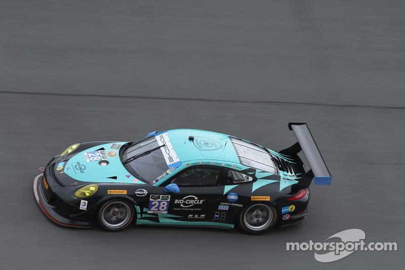 #28 Konrad Motorsport, Porsche 911 GT Americas: Lance Willsey, Christian Engelhart, Klaus Bachler, Christopher Zoechling