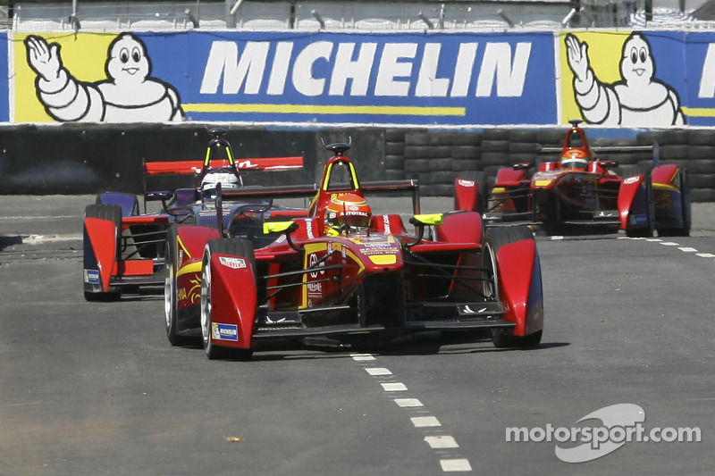 Nelson Piquet Jr., China Racing Formula E Team Sam Bird, Virgin Racing Formula E Team Ho-Pin Tung, China Racing Formula E Team