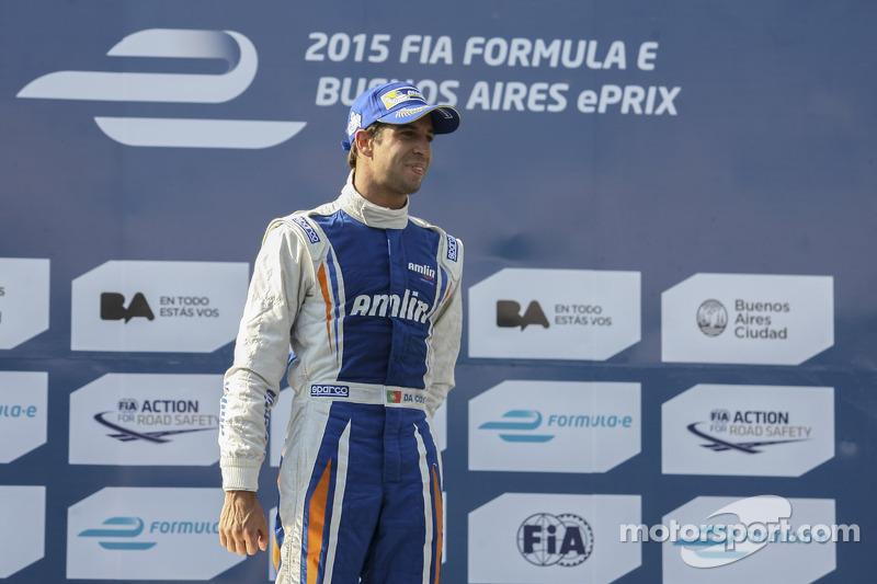 Juara balapan Antonio Felix da Costa, Amlin Aguri