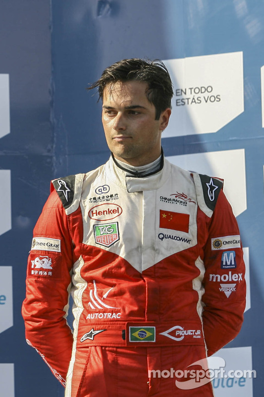 Terceiro lugar Nelson Piquet Jr., China Racing