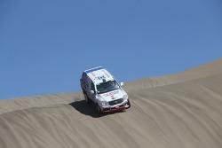 #343 Toyota: Jun Mitsuhashi, Alain Guehennec