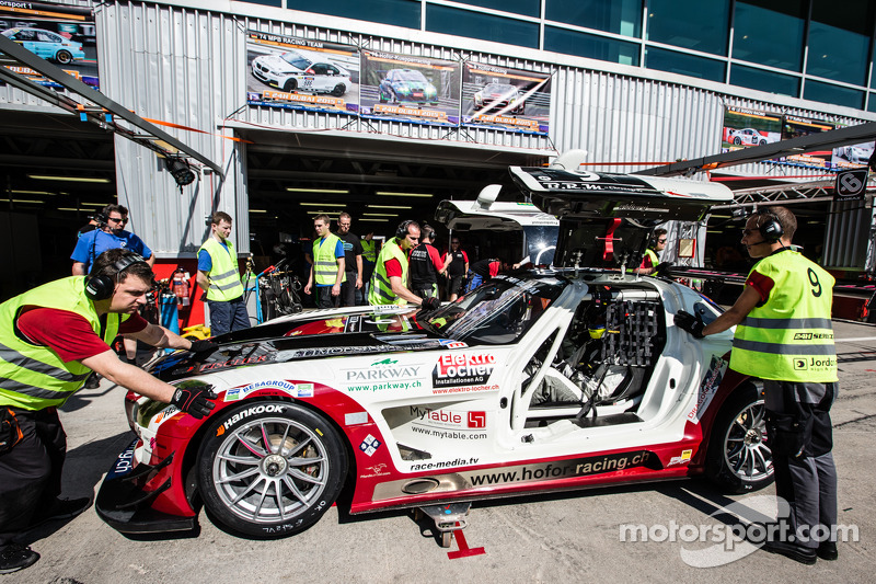 #9 Hoдля-Racing Mercedes SLS AMG GT3: Michael Kroll, Kenneth Heyer, Christiaan Frankenhout, Роланд Еггіманн, RolAndrehfeld