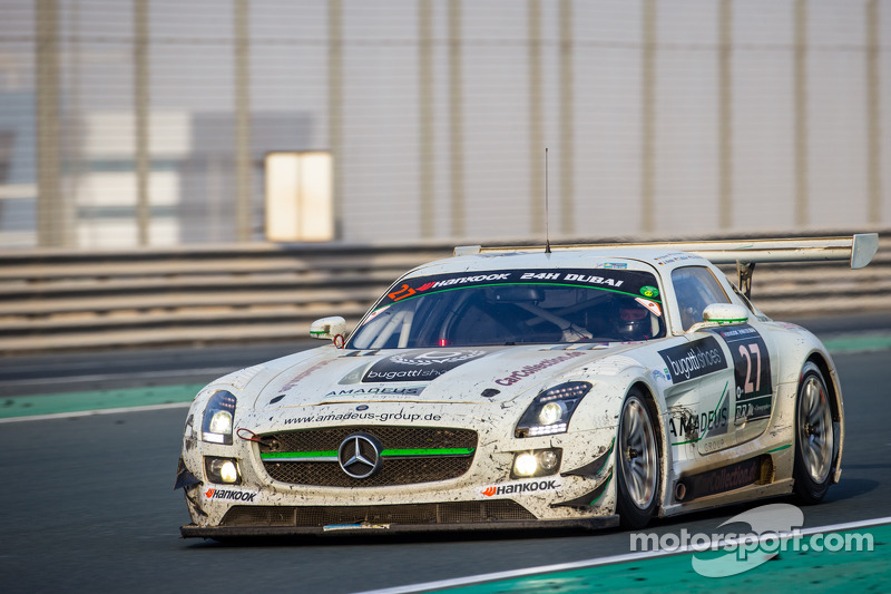 #27 Car Collection Motorsport Mercedes SLS AMG GT3: Tim Müller, Dirg Parhofer, Jürgen Krebs, Pierre Ehret, Norbert Pauels