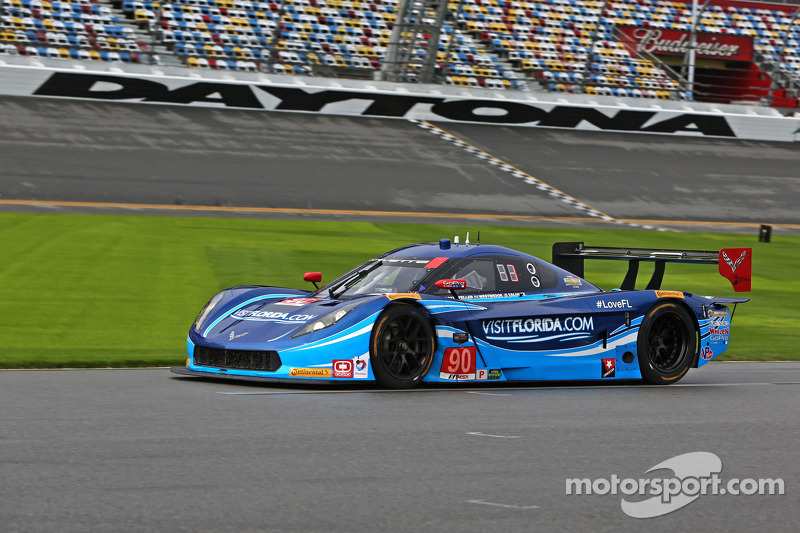 #90 VisitFlorida.com Racing, Corvette DP: Richard Westbrook, Michael Valiante, Mike Rockenfeller