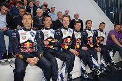 Volkswagen WRC, Fahrer und Copiloten