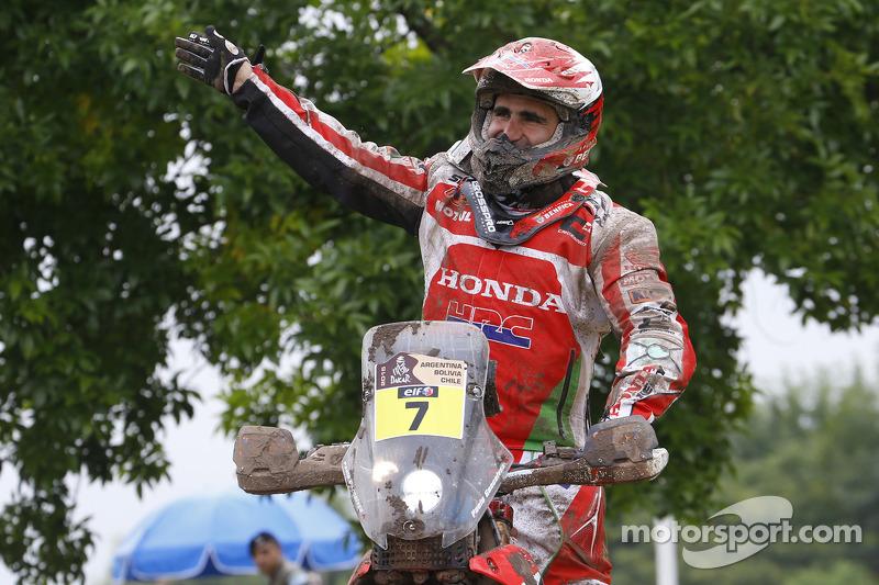 #7 本田: Paulo Goncalves