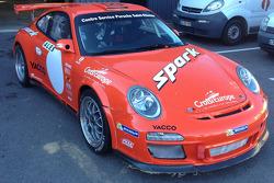 Spezialdesign am Porsche von Romain Dumas