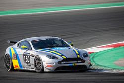 #160 ALFAB Racing,阿斯顿·马丁Vantage GT4: Erik Behrens, Daniel Roos, Henric Skoog, Patrik Skoog
