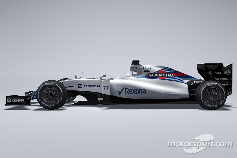 Der neue Williams FW37