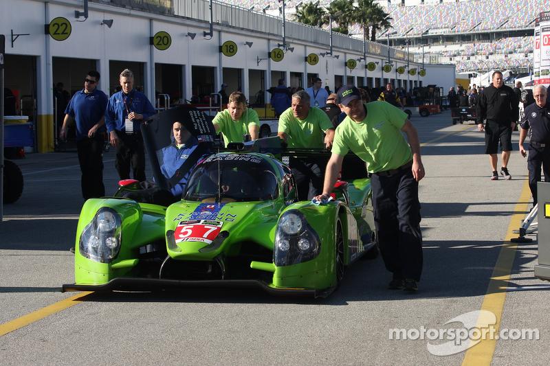 #57 Krohn Racing Ligier JS P2 Judd