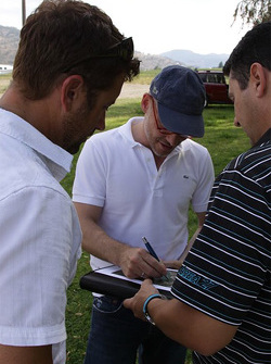 Track planning with Jacques Villeneuve
