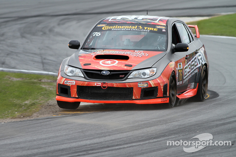 #76 Compass360 Racing, Subaru WRX STI: Ray Mason, Pierre Kleinubing