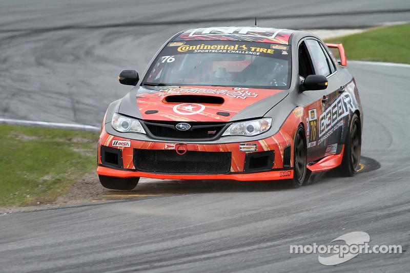 #76 Compass360 Racing,斯巴鲁WRX STI: Ray Mason, Pierre Kleinubing