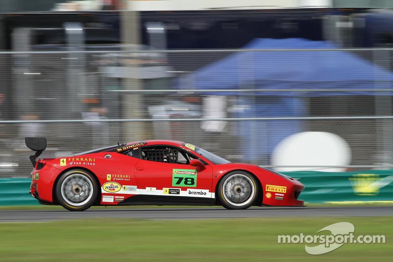 #78 Ferrari of Newport Beach Ferrari 458: Al Hegyi