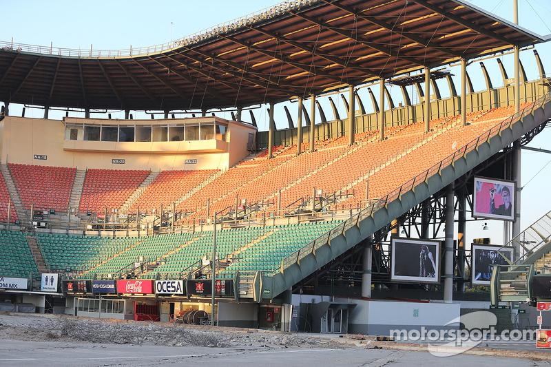 Stadion-Bau