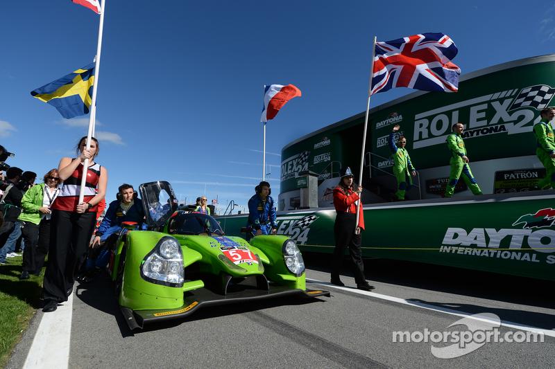 #57 Krohn Racing Ligier JS P2 Judd: Трейсі Крон, Олів'є Пла, Нік Джонсон, Alex Brundle