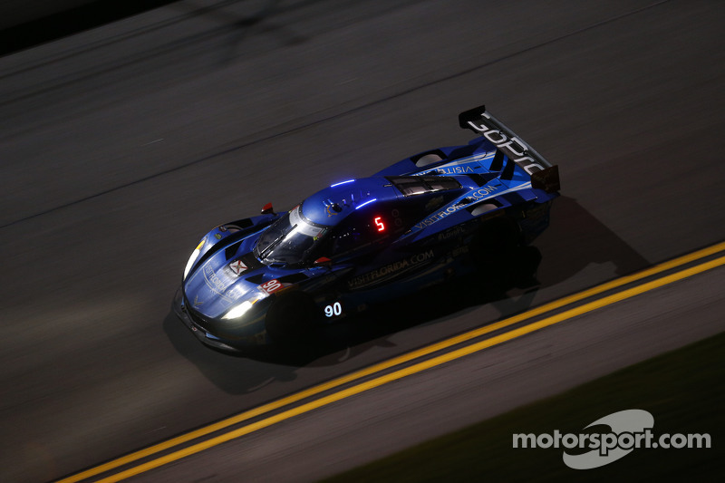 #90 VisitFlorida.com Racing, Corvette DP: Richard Westbrook, Michael Valiante, Mike Rockenfeller, Guy Cosmo