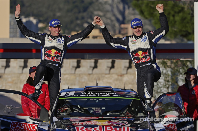 2. Jari-Matti Latvala und Miikka Anttila, Volkswagen Polo WRC, Volkswagen Motorsport