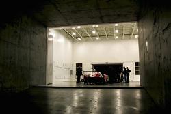 Teaser image of the Nissan LMP1