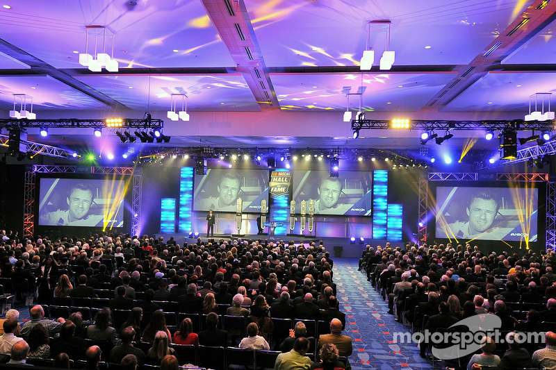 Panorama della 2015 NASCAR Hall of Fame Induction