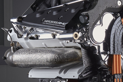 Details of the power unit of the Mercedes AMG F1 W06