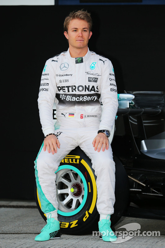 Nico Rosberg, da Mercedes AMG F1 W06