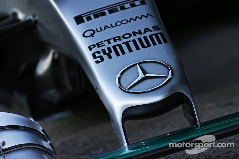 Mercedes AMG F1 W06, burun