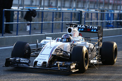 Valtteri Bottas, Williams FW37 running sensor equipment