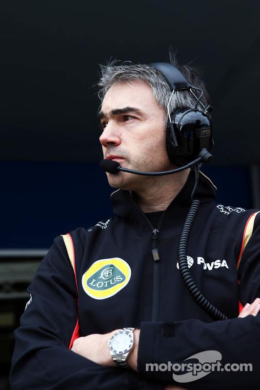 Nick Chester, 路特斯F1车队技术总监