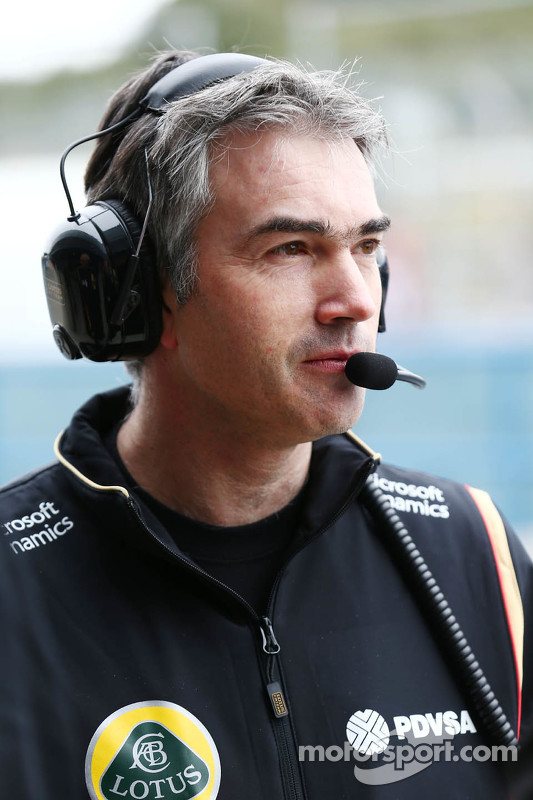 Nick Chester, Lotus F1 Team, Technischer Direktor