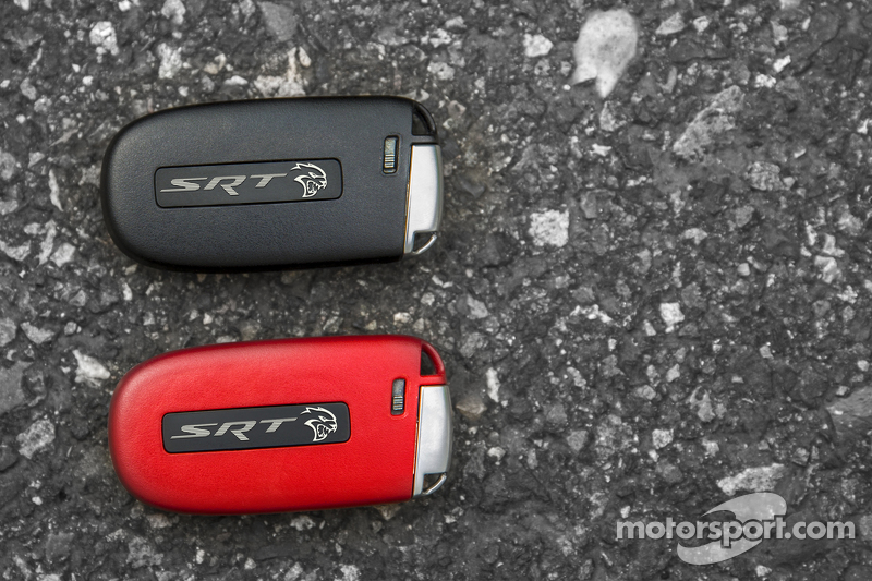 Las llaves del Dodge Challenger SRT Hellcat