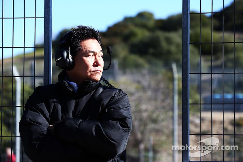 Yasuhisa Arai, 本田赛车首席执行官