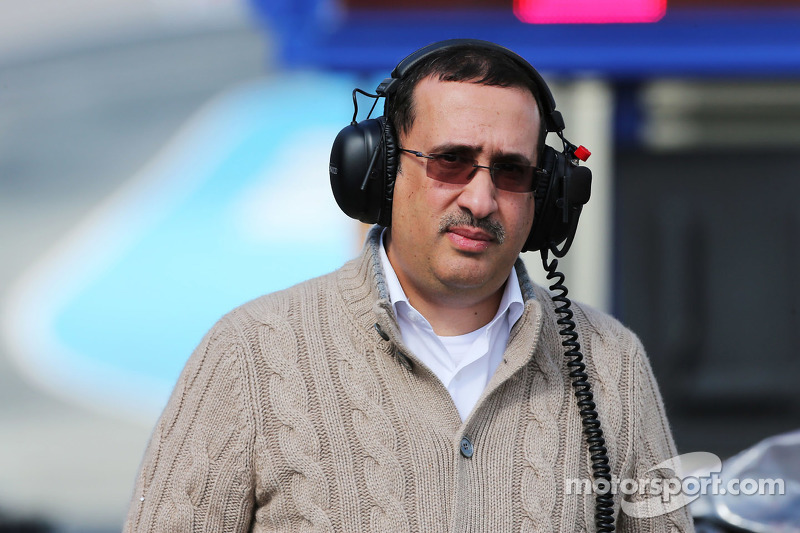 Scheich Mohammed bin Essa Al Khalifa, Geschäftsführer des Bahrain Economic Development Board und McLaren-Teilhaber