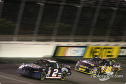 Rusty Wallace and Sterling Marlin