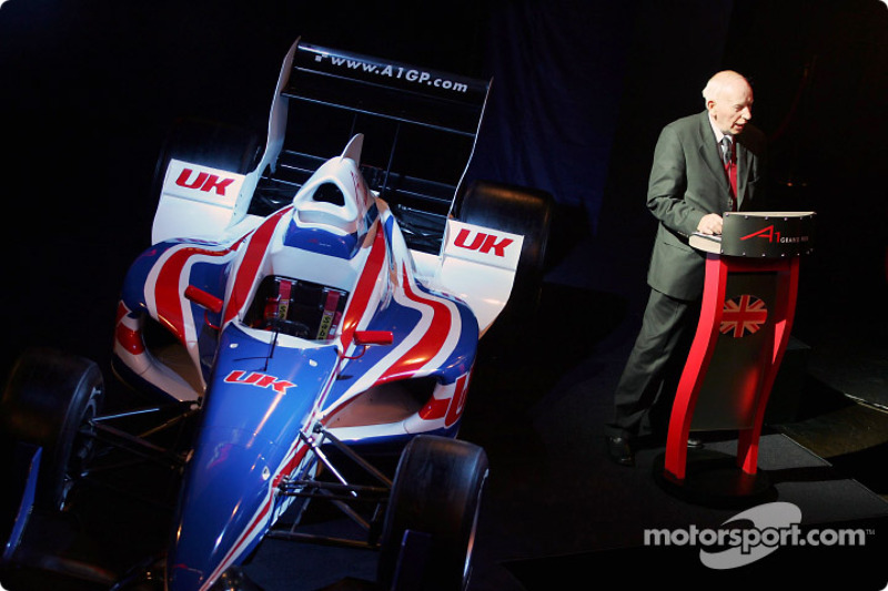 John Surtees (GBR) Spokesperson for the UK National Seat Holders