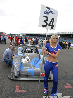 K2 Race Engineering grid girl