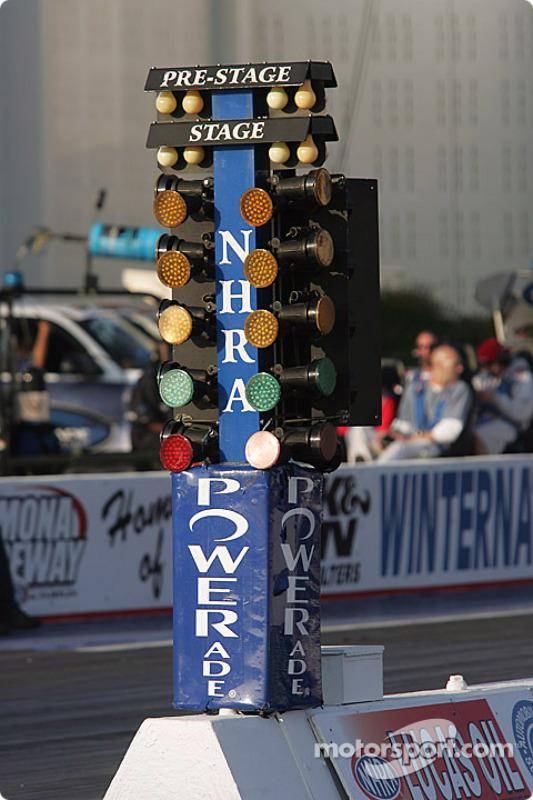 Christmas tree at Pomona Raceway - Christmas Tree At Pomona Raceway At Pomona II